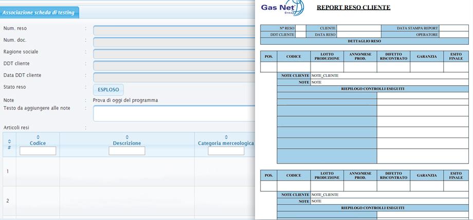 Software gestionale per la Gestione dei Resi | ImpresaInCloud